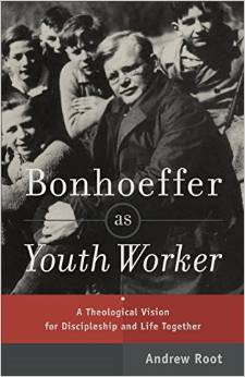 http://www.amazon.com/Bonhoeffer-Youth-Worker-Theological-Discipleship/dp/0801049059