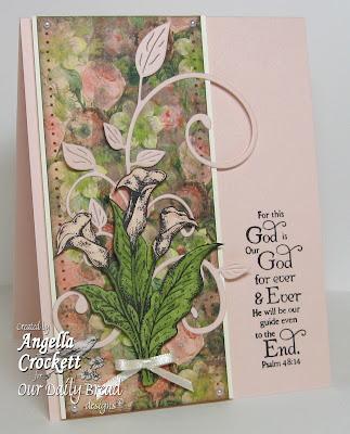 Our Daily Bread designs Loving Memories Designer Angie Crockett
