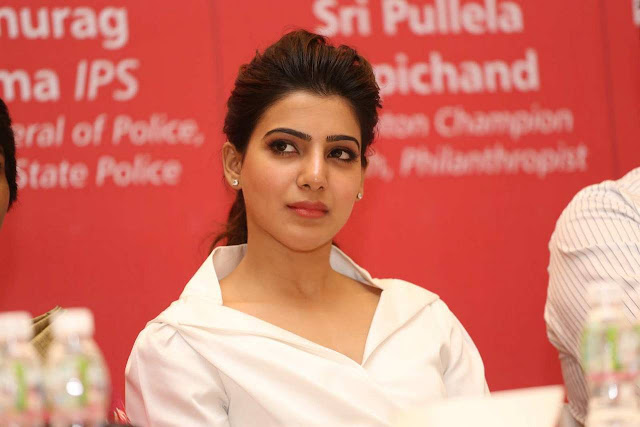 Samantha Latest Stills At Maxcure Hospitals Organs Donation Event