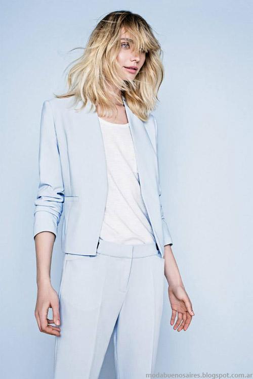 MODA - Portsaid primavera verano 2015, ropa de mujer, moda clásica urbana 2015.