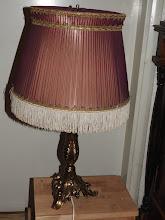Pöytälamppu Rokokoo