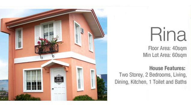 Rina Two Storey House in Camella Carcar Cebu