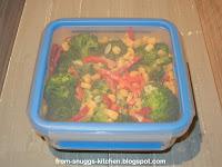 Brokkoli-Salat mit Mais