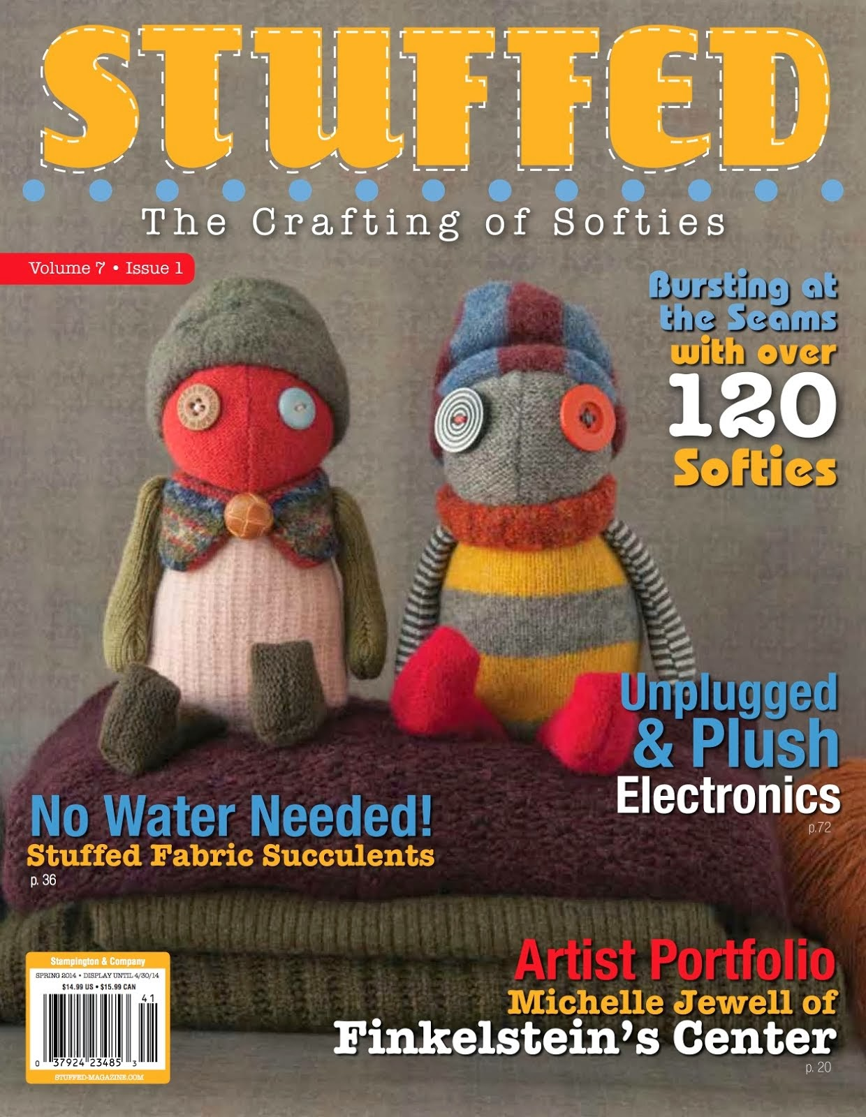 SweaterDoll in STUFFED magazine