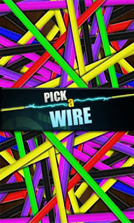 Screenshots of the Pick a wire for Android tablet, phone.