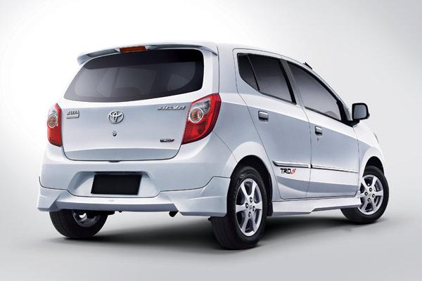 Toyota Agya - eksterior