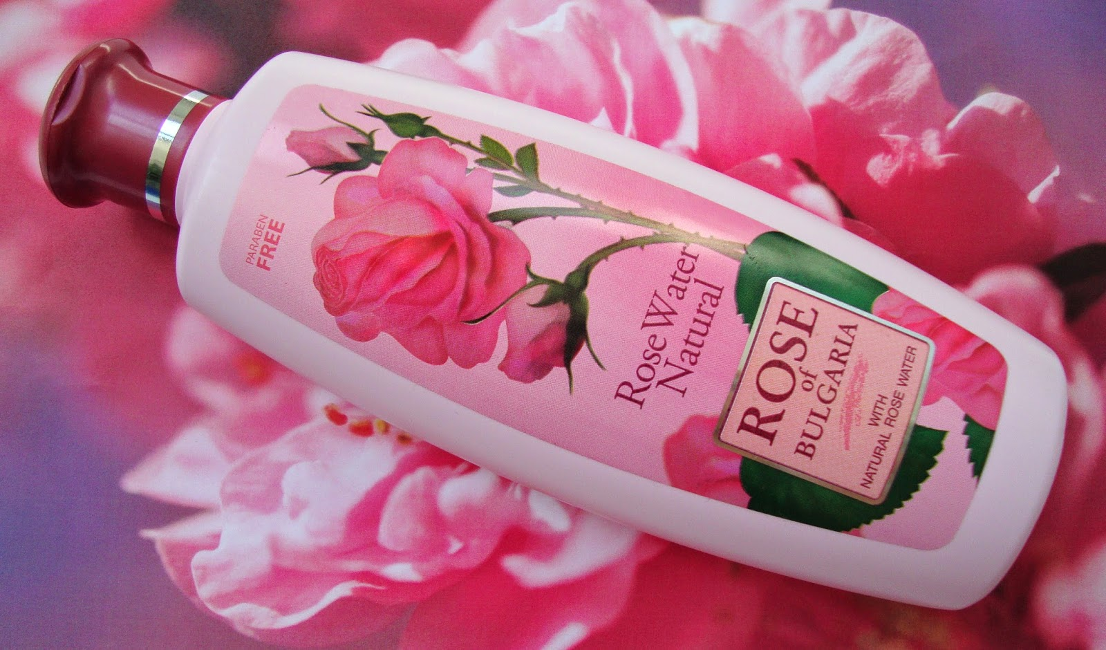 Rose of Bulgaria Rose Water Natural