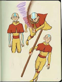 Aang Sketches