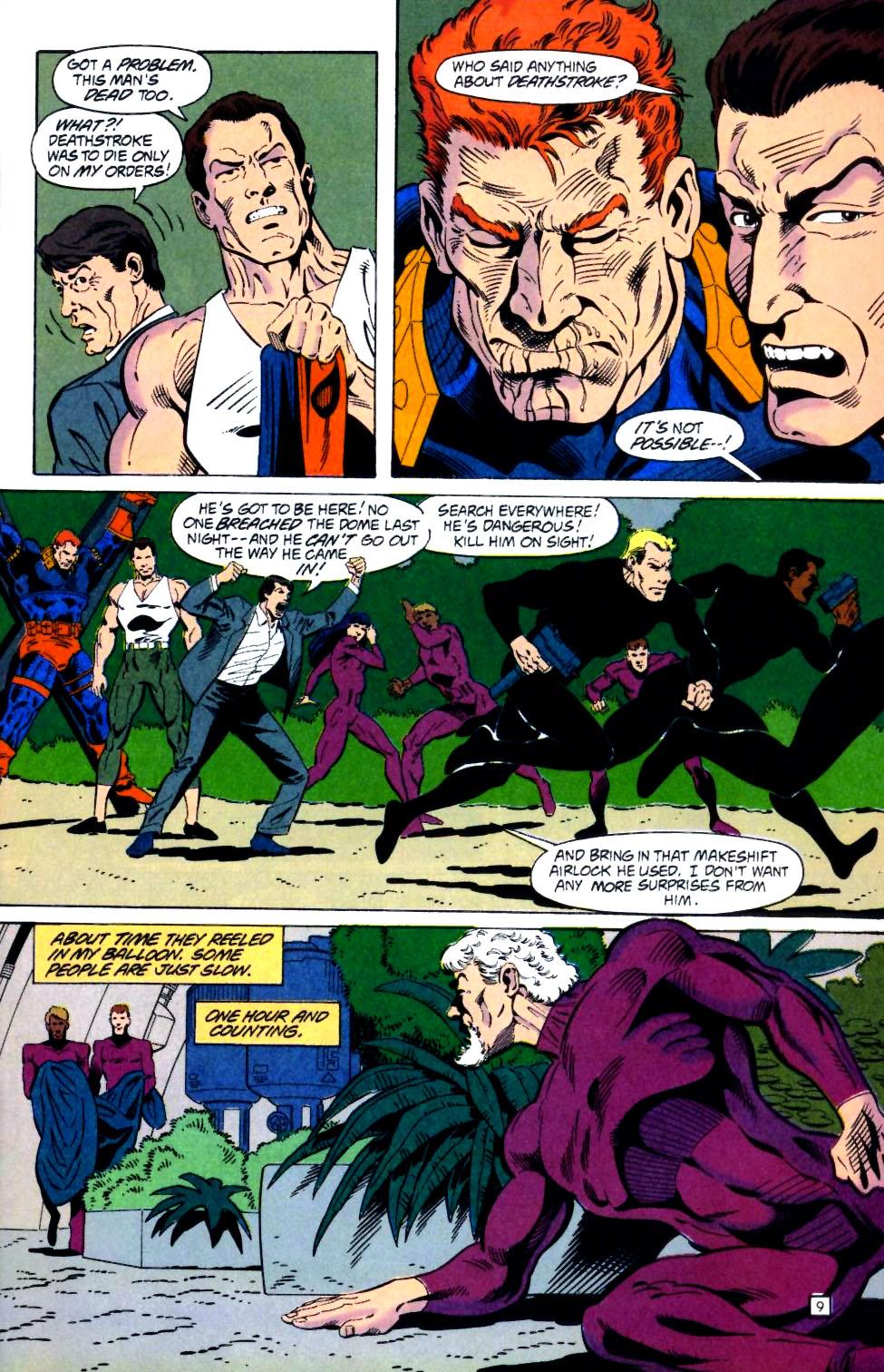 Deathstroke (1991) Issue #25 #30 - English 10