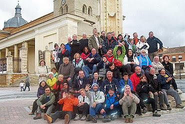 El encuentro de peregrinos de Villalón, ya tradición