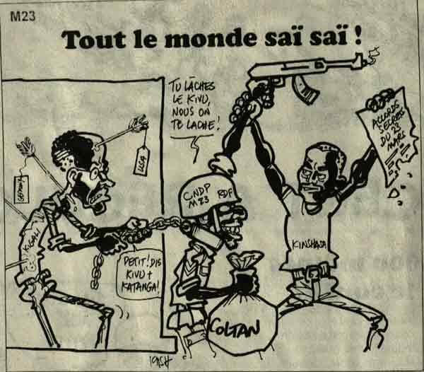 PBL vox: Mauvaise presse pour le Rwanda à Kinshasa