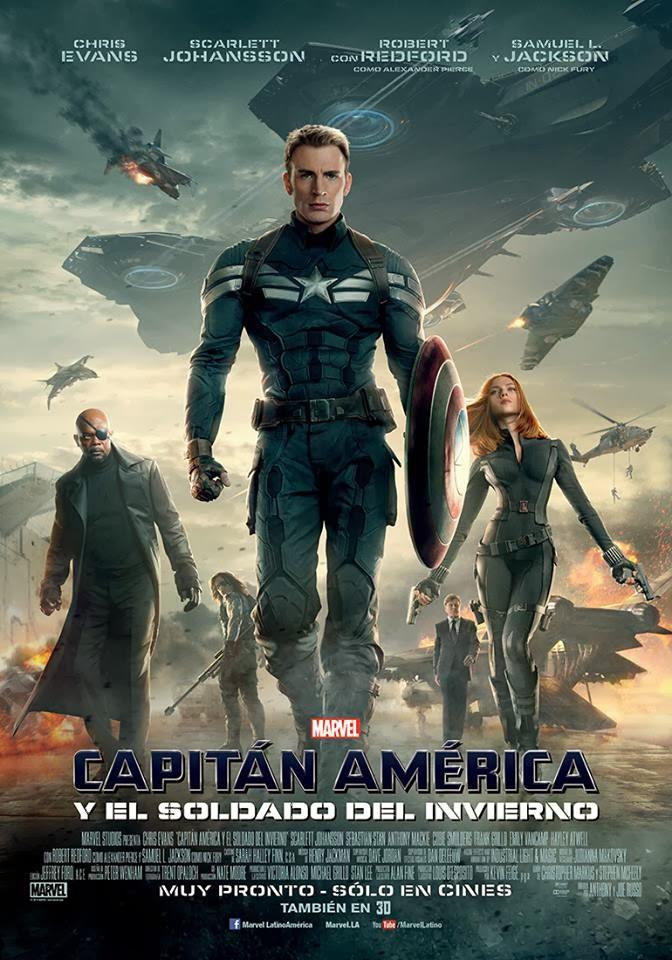 Poster CapitánAmérica y El Soldado del Invierno