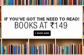 Get the Chance to Buy All Kinds of Books just for Rs.149 Only @ Flipkart (4768 Books are available)