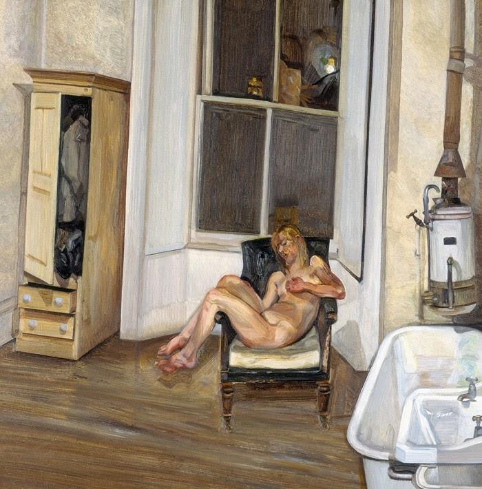 Lucian Feud - Intérieur la nuit (Night interior ),1969-70