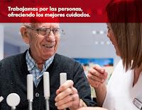 Trabajamos por las personas, ofreciendo los mejores cuidados.