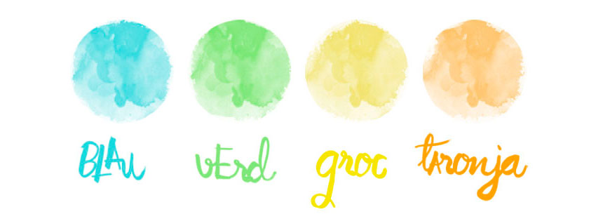 Els quatre colors que representen la primavera ©Imma Mestre Cunillera