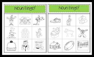Name A Noun Game Board | Best of First Grade | Pinterest | Game ...