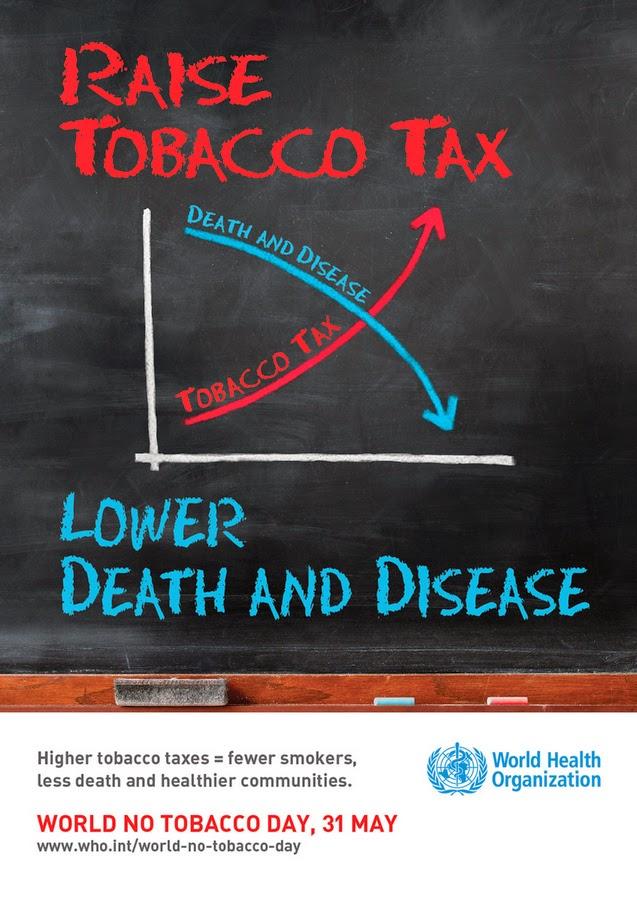 Poster Hari Tanpa Tembakau Sedunia 2014