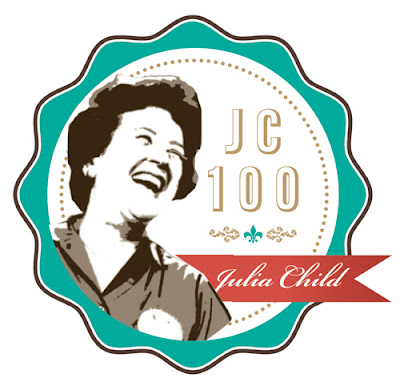 JC100 Badge - A Celebration of Julia Child