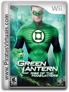Lançamentos 2012 Downloads Download Jogo Green Lantern Rise of The Manhunters   Wii