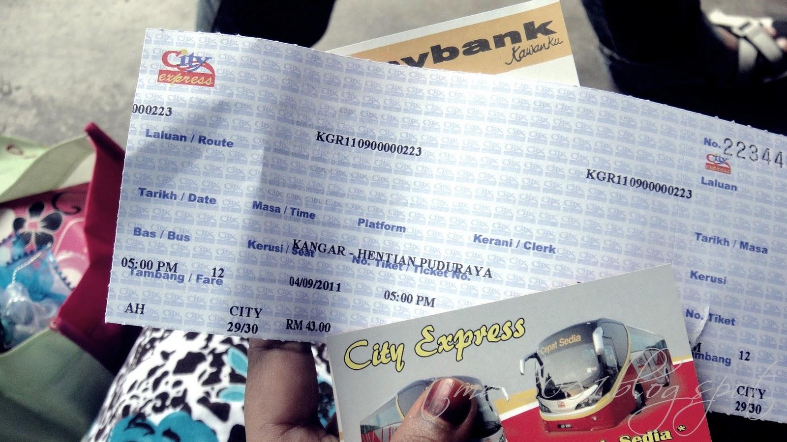 De39 Nurul Dari Kangar Ke Kuala Lumpur