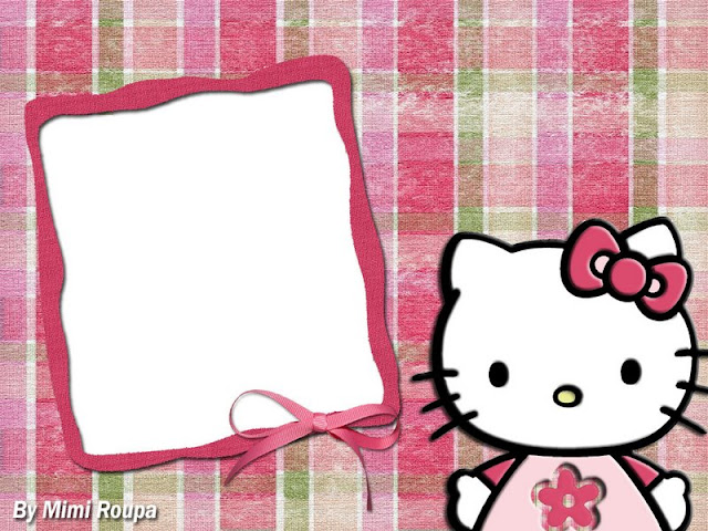 Hello Kitty Cute Free Printable Frames And Images Oh