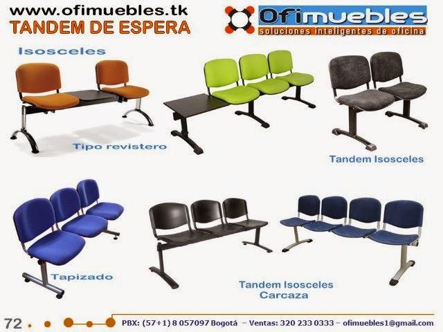Sillas para oficina ofimuebles colombia for Almacenes de muebles en bogota 12 de octubre