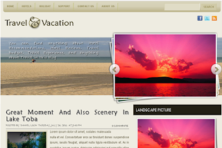 My Travel Story and Experience Blogger Templates