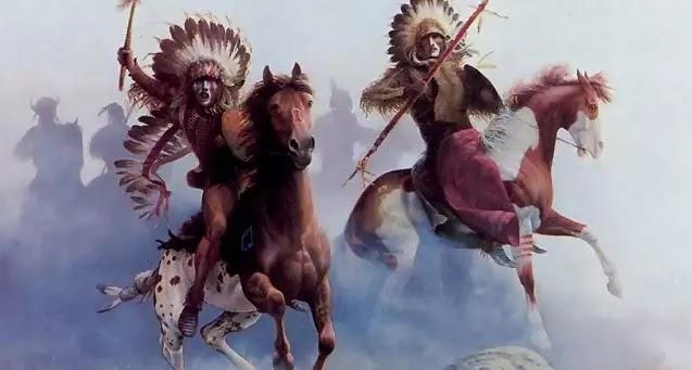 Οι μαγικές δυνάμεις των Ινδιάνων πολεμιστών της Αμερικής