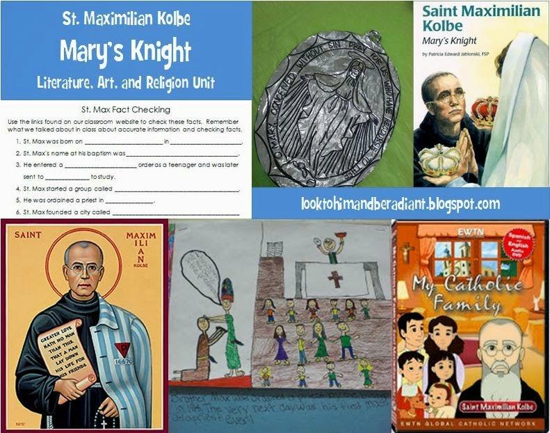 http://looktohimandberadiant.blogspot.com/2013/09/teaching-about-st-maximilian-kolbe.html
