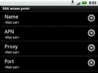 Cara Setting Internet Pada Android