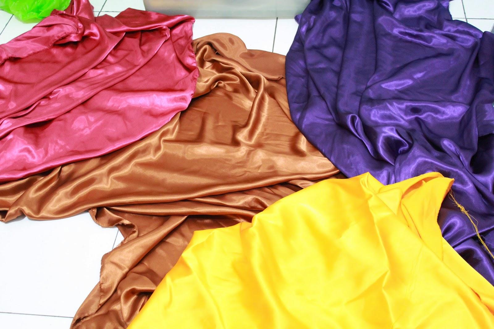 kegunaan tipe jenis bahan kain satin