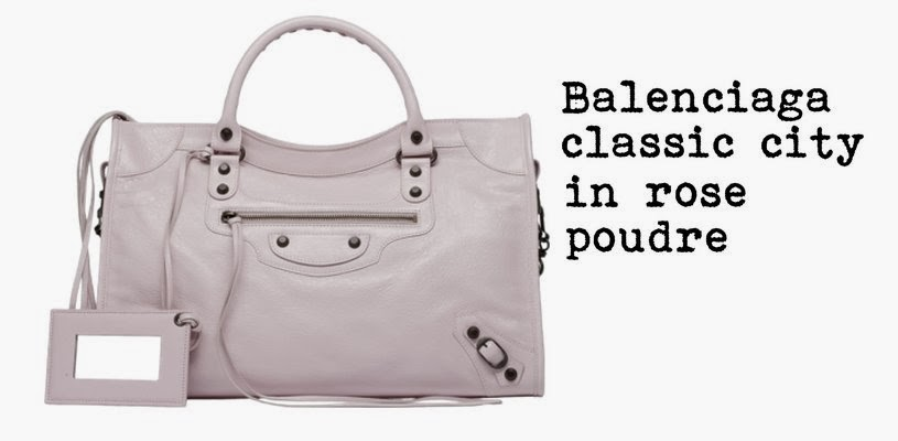 Balenciaga classic city in rose poudre, fashion and cookies, fashion blog