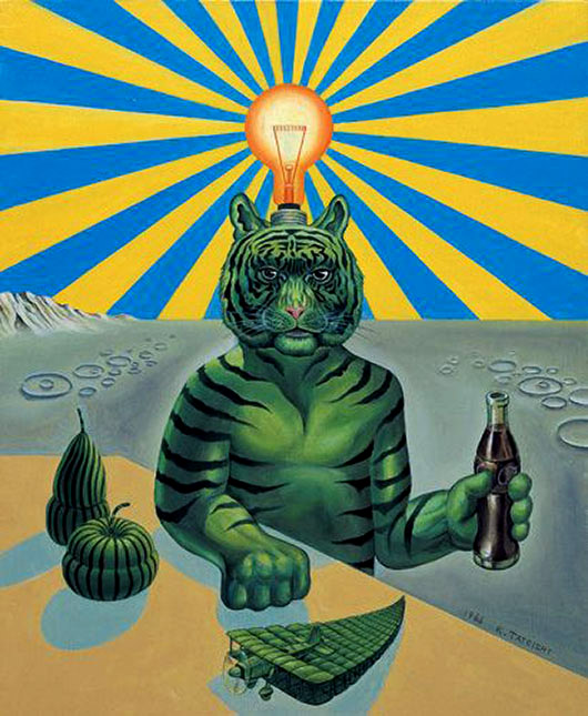 Tiger Kouichi Tateishi タイガー立石 www.yamamotogendai.org/english/artist/tiger.html