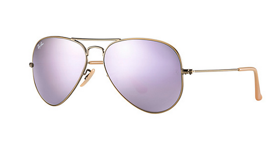 ray ban aviator color lenses