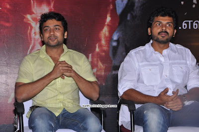 Karthi & Surya latest stills
