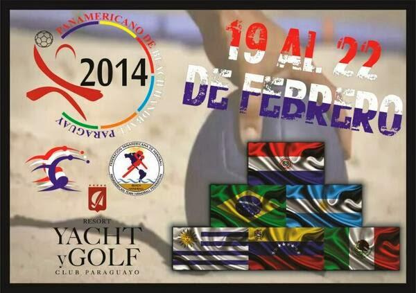 Campeonato Panamericano de Beach Handball en Paraguay | Mundo Handball