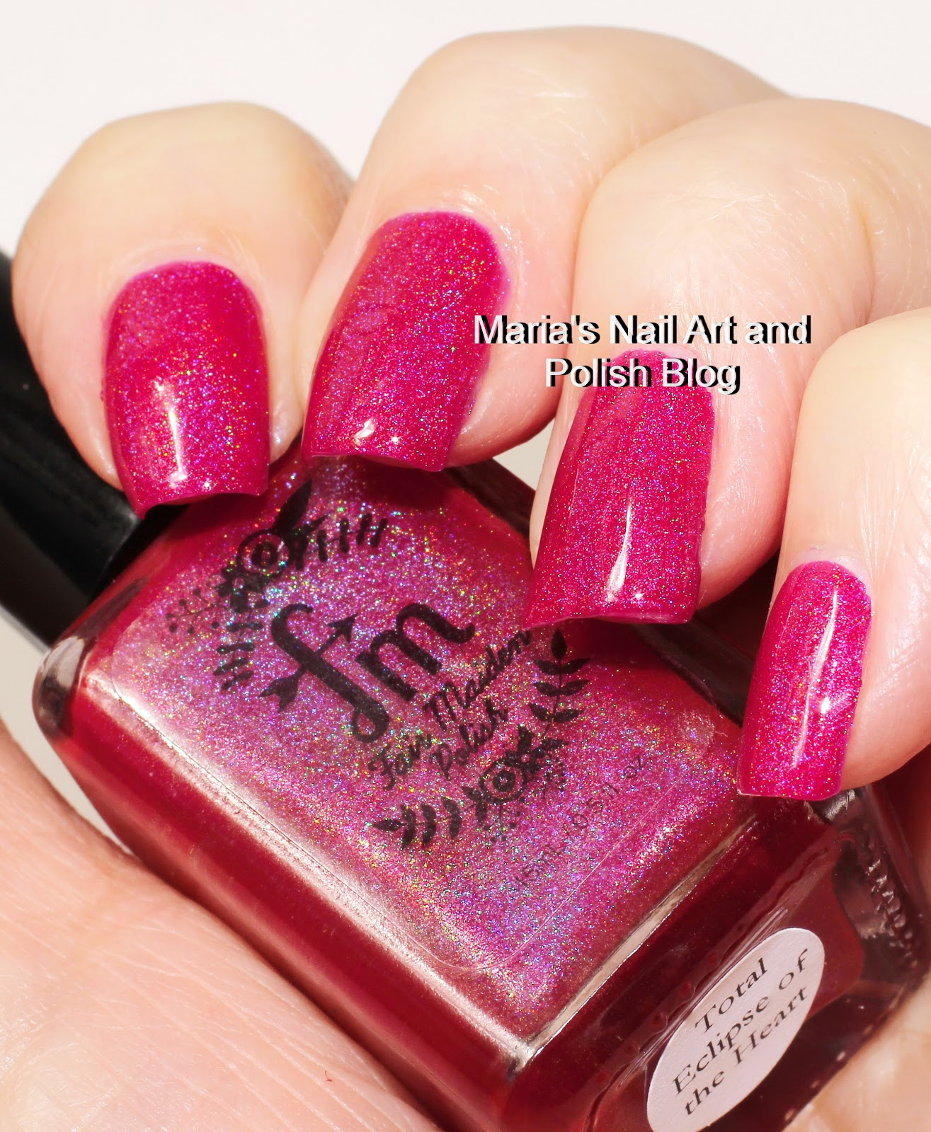 Marias Nail Art and Polish Blog: Fair Maiden Total Eclipse Of The ...