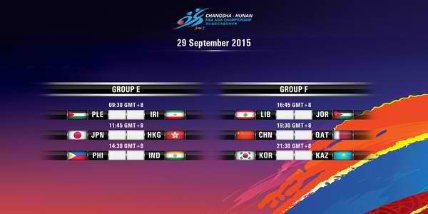Day 6: FIBA Asia 2015 Results, Scores, Stats & Video Highlights (September 29)