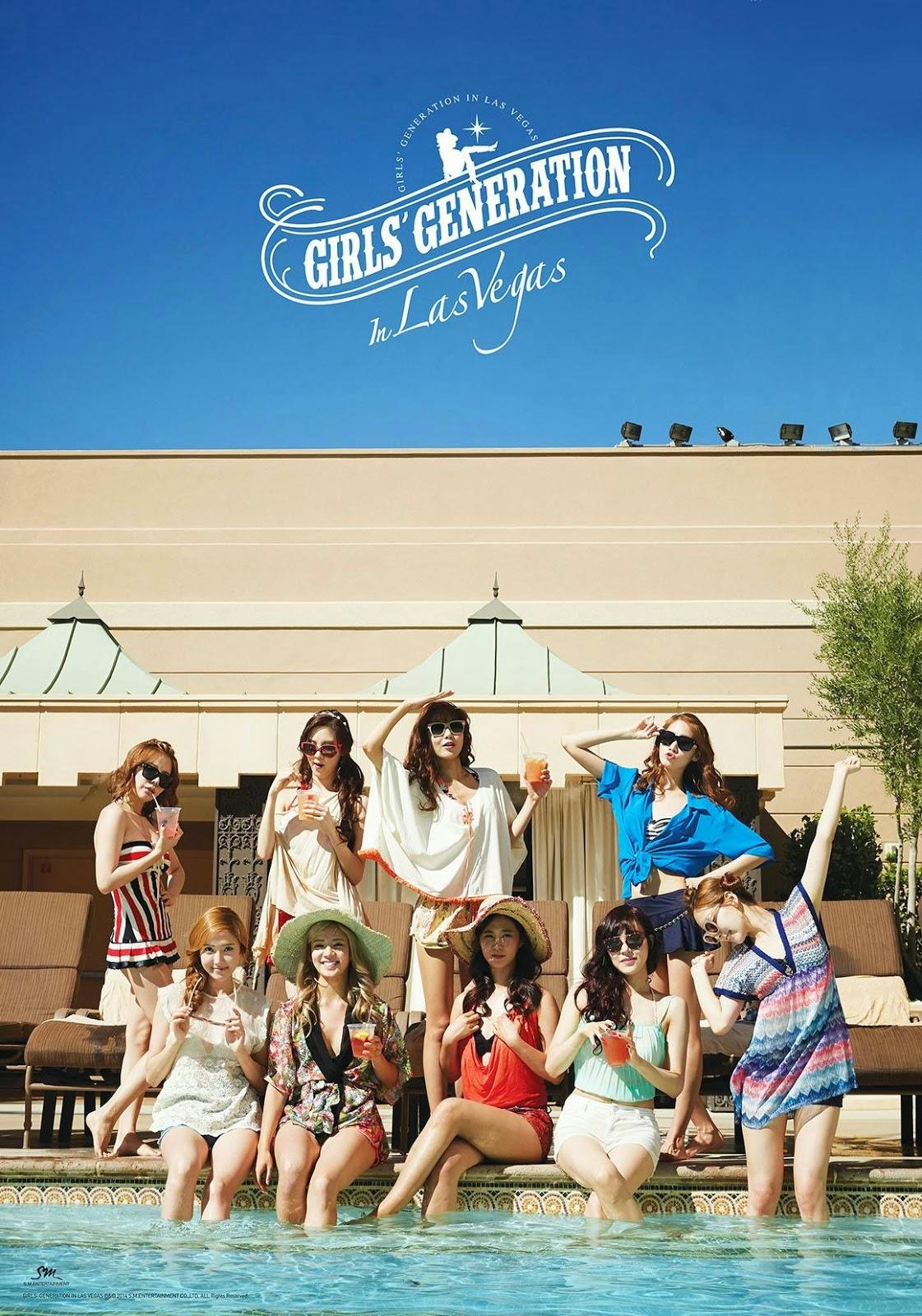 Girls Generation In Las Vegas Photobook