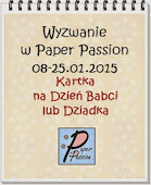 Wyzwanie w Paper Passion.pl do 25-01-2015