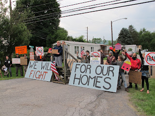 Resistance at Riverdale: Blockade, Day One, June 2012