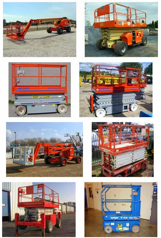 aerial lifts and handling equipments