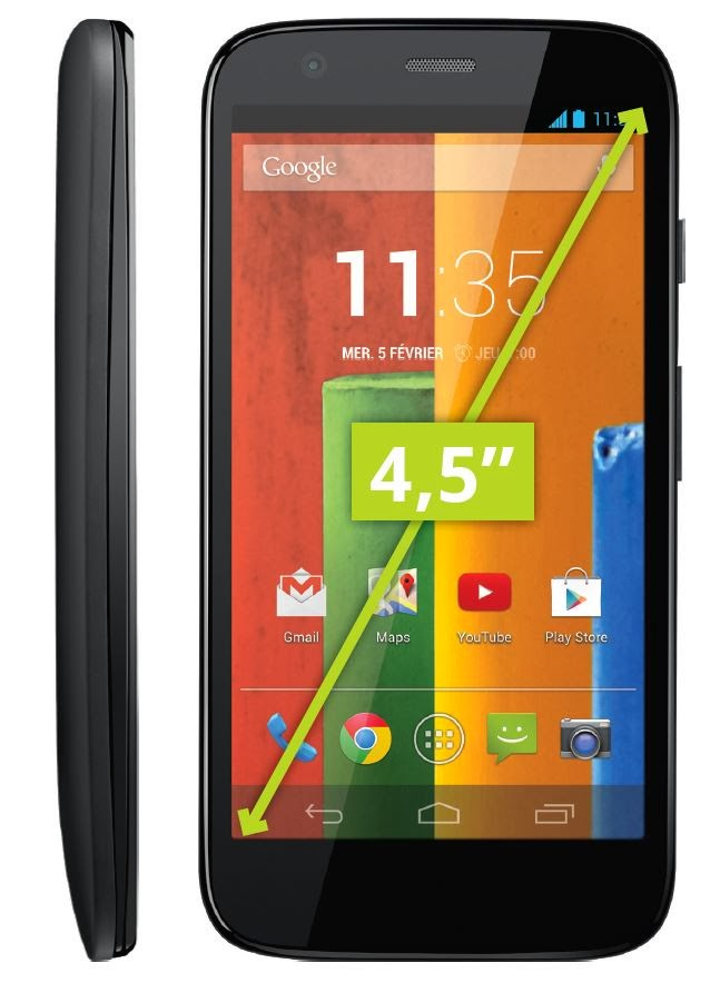 Motorola G 8 Go Noir comparatif smartphone