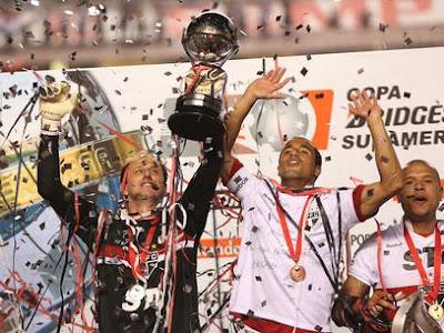 Sao Paulo, campeón sudamericana 2012
