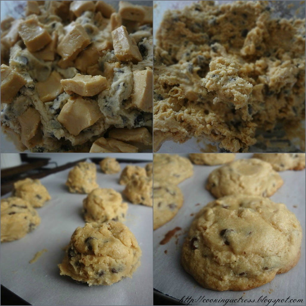 The Cooking Actress: Chocolate Chip and Peanut Butter ...
