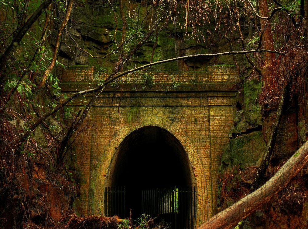 Helensburgh railway tunnels, Australia