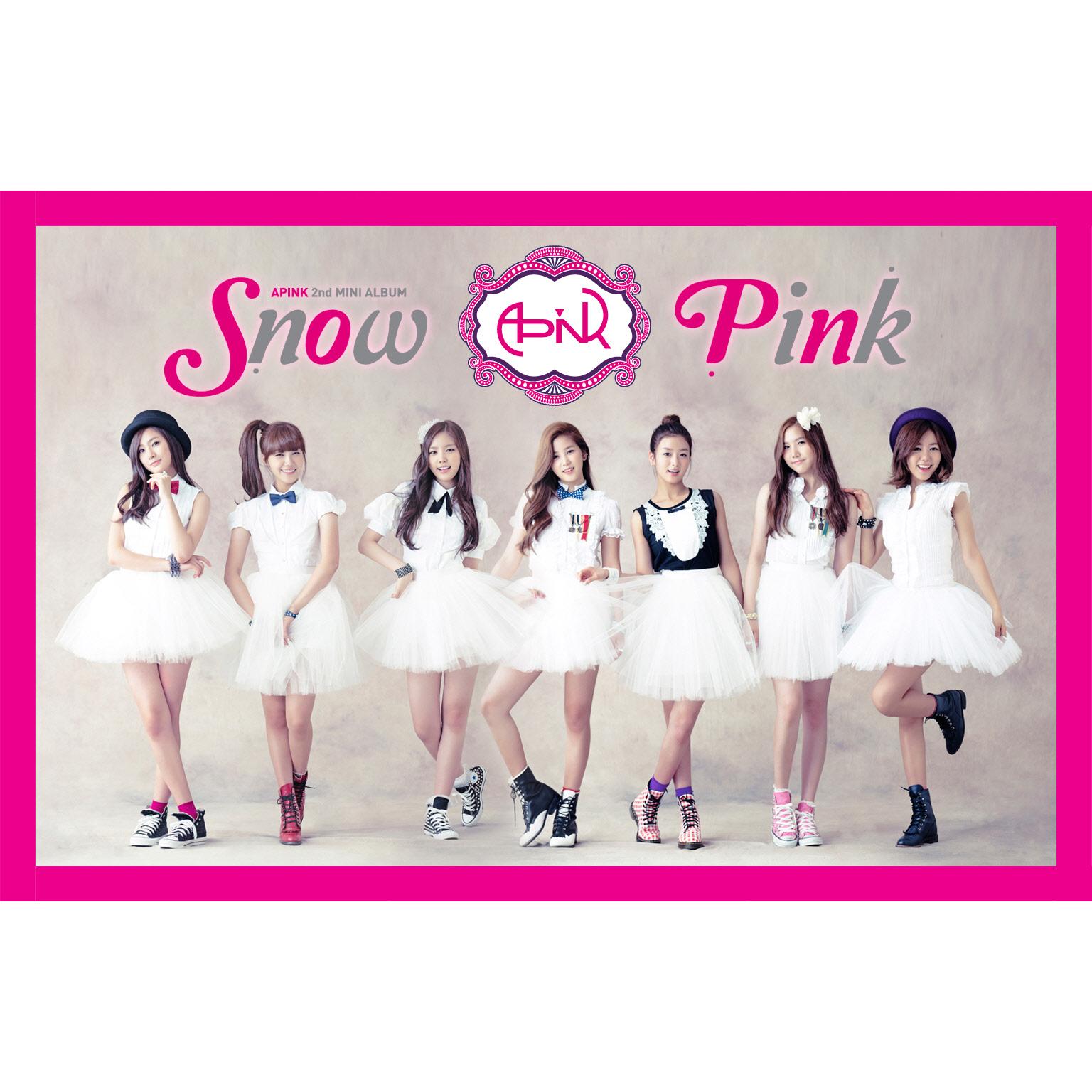 Codinome Japonês Mp3: A Pink - Snow Pink (mini Albúm)