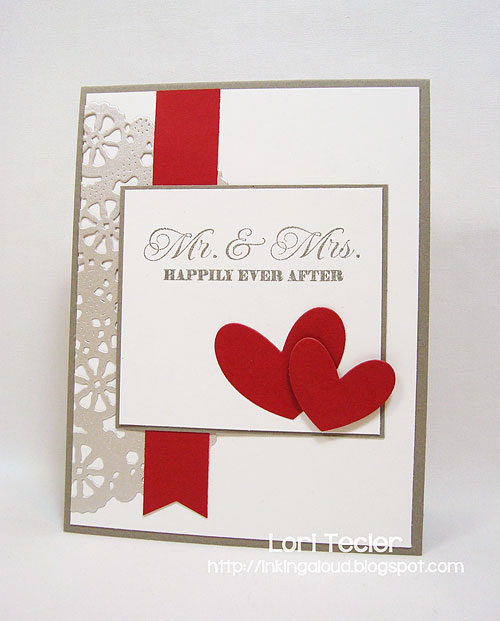 Happily Every After card-designed by Lori Tecler/Inking Aloud-stamps and dies from Clear and Simple Stamps