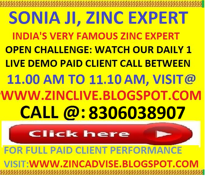 SONIA JI, INDIA'S FAMOUS ZINC EXPERT ADVICE, FOR LIVE DEMO 1 CALL BELOW PICTURE PLEASE CLICK ON IT